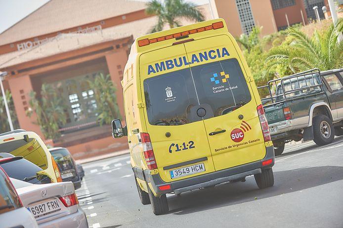 Een Spaanse ambulance. Foto ter illustratie.