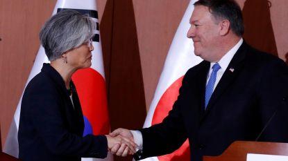 """Pompeo in Seoel: """"VS houden vast aan denuclearisatie Noord-Korea"""""""