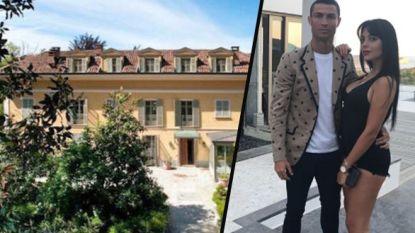 Een droom om naast Cristiano Ronaldo te wonen? Allerminst, zo ondervindt Turijnse actrice nu al aan den lijve