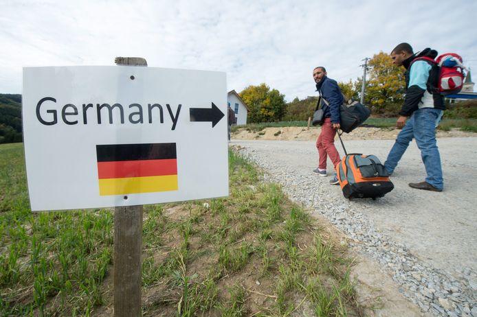 Migranten die al in Italië staan geregistreerd, kunnen voortaan door Duitsland worden teruggestuurd.