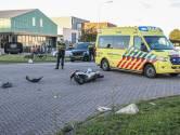Scooterrijder gewond bij aanrijding met auto op Urk