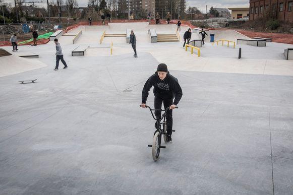 Het skatepark op de Trax-site heropent morgen. Wie wil skaten, moet reserveren.