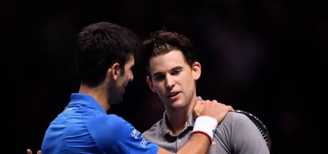 Na Federer buigt ook Djokovic voor Thiem op ATP Finals
