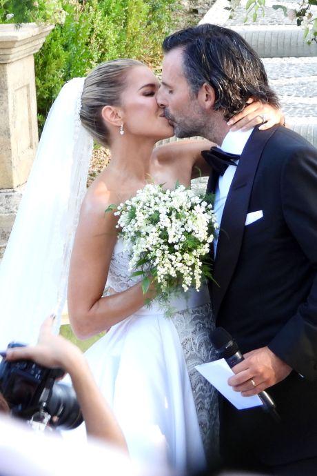 Sylvie Meis en haar Niclas tóch samen op door paparazzo verspreide trouwfoto's