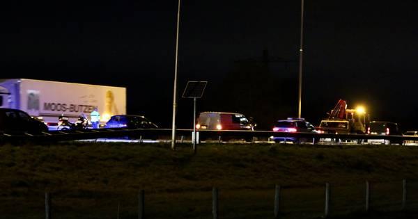 Vertraging weer voorbij na ongeluk op A73 bij Beers.
