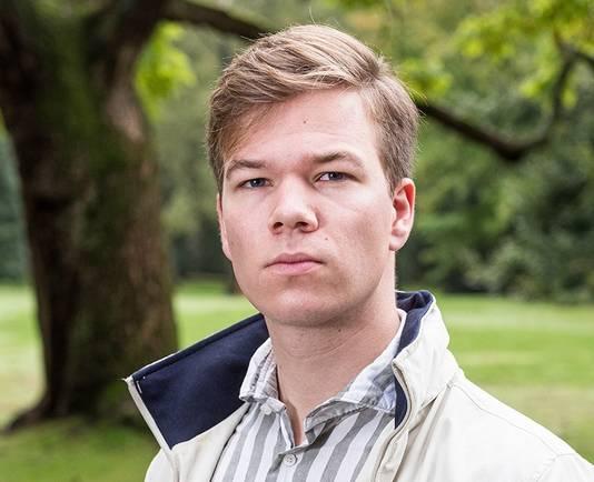 Pascal Bruineman: 'Je hoort ook verhalen van studenten die niet bij onze vereniging zitten en die het moeilijker hebben.'