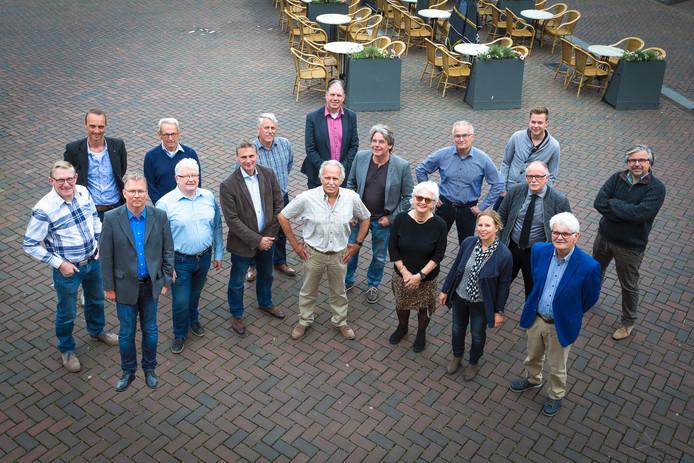 Het bestuur en de fractie van de Roosendaalse Lijst.