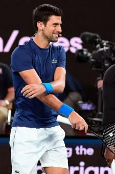 Benefietduel tennissers brengt donatie branden op 3 miljoen euro