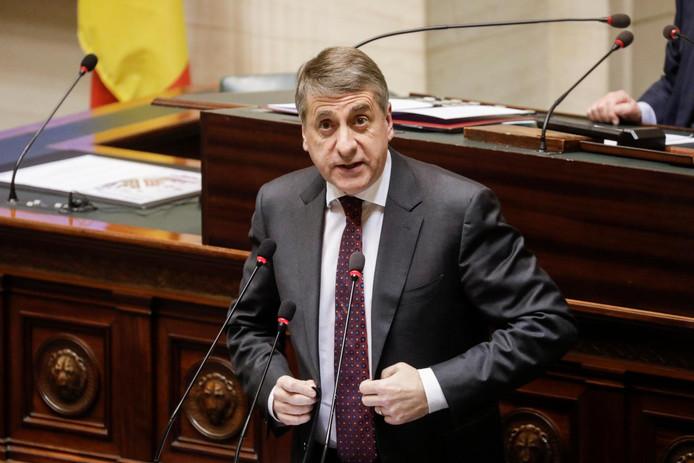 Olivier Maingain a fait ses adieux à la Chambre, où il siégeait depuis 1991.