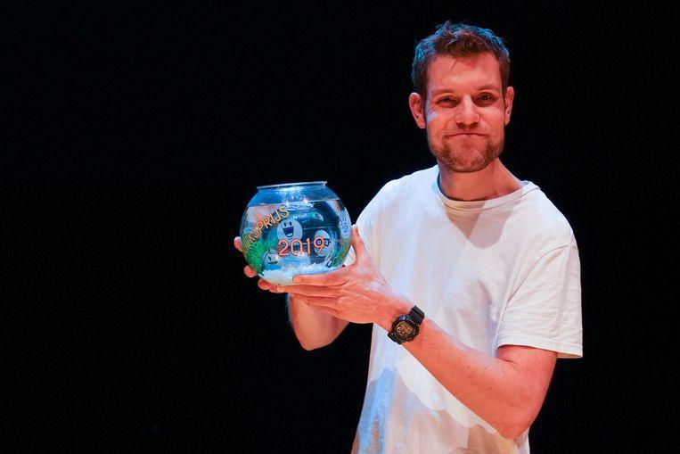 Tobi Kooiman won de publieksprijs. Beeld Jaap Reedijk