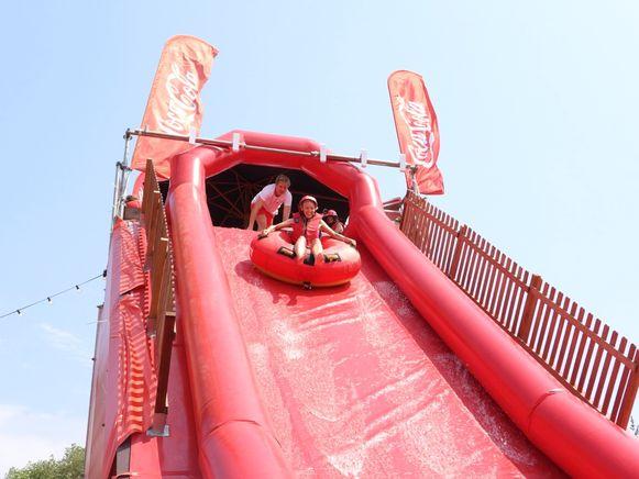 De Coca-Cola Big Air is nog het hele weekend te bezoeken in Brugge.