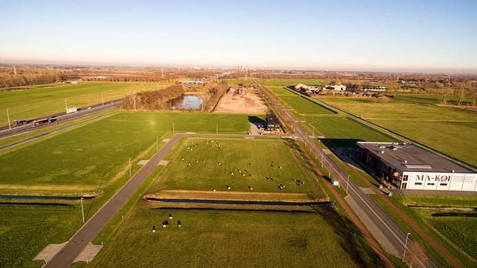 Archieffoto van Bedrijvenpark H2O in Hattemerbroek.