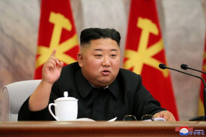 De Noord-Koreaanse dictator Kim Jong-un.