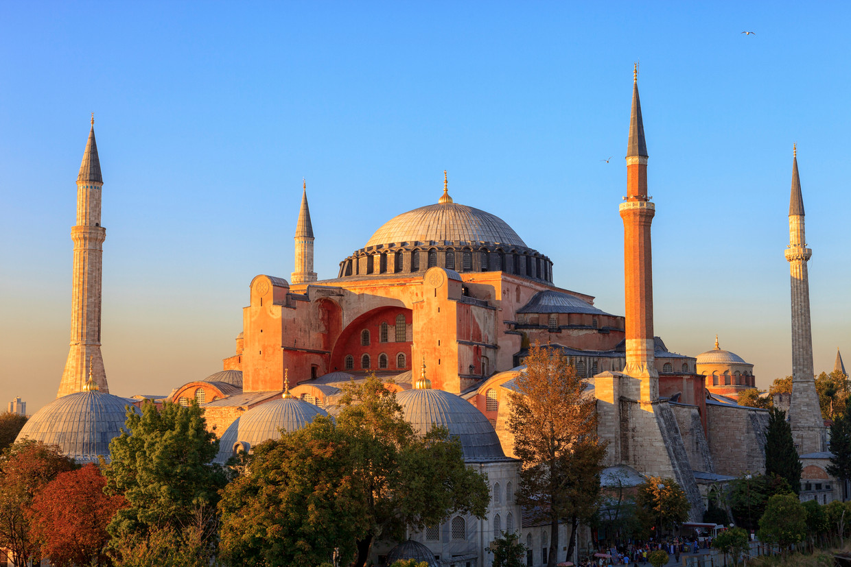 De voormalige Hagia Sophia-kathedraal doet tegenwoordig dienst als museum.