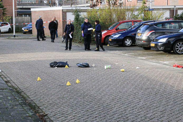 Sporen te over nadat er november vorig jaar was geschoten in Helmond. Tussen alle axhtergebleven spullen lag ook de telefoon van de vermoedelijkke schutter.