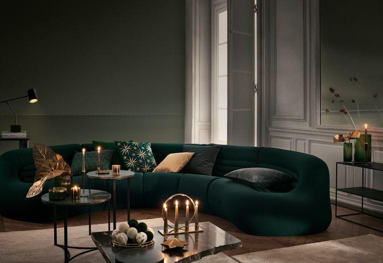 Groen is één van de populairste kleuren voor je interieur in 2020.