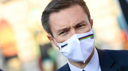 """UCI-voorzitter Lappartient trots op wielersport: """"Dat we Parijs halen, bewijst dat ons protocol grondig is én gerespecteerd wordt"""""""