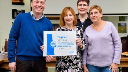 Vrije Basisschool Opstal ontvangt cheque voor inspanningen tegen zwerfvuil