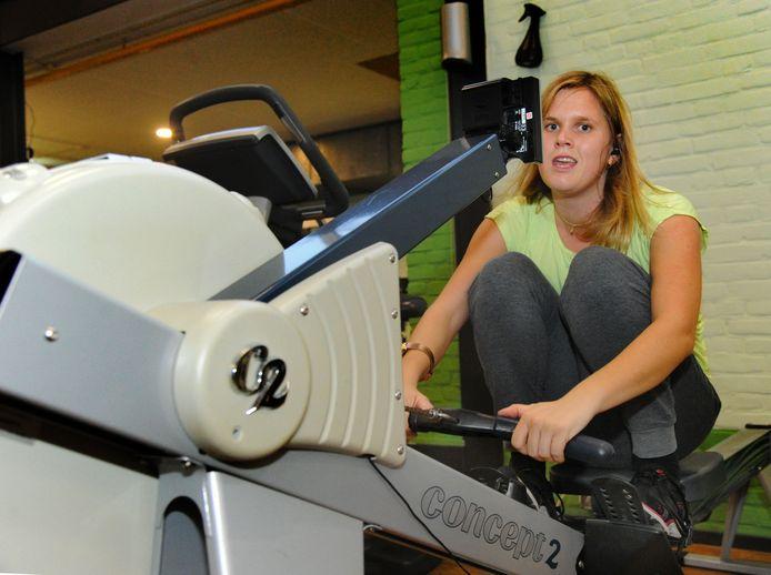 Vivian van Horik mag weer sporten bij sportschool DOEN.