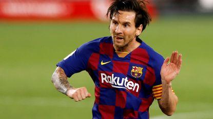 """Barcelona staat dicht bij contractverlenging Messi: """"Gesprekken lopen in goede verstandhouding"""""""