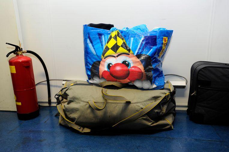 Een plastic tas van speelgoedketen Bart Smit, een van de merken die in 2019 ophielden te bestaan. Beeld ANP