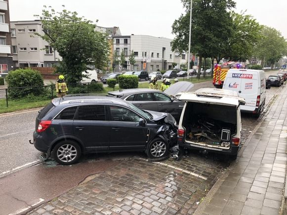 Verkeershinder in Mortsel