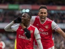 Arsenal klimt naar linkerrijtje na zege op Everton