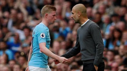 "Guardiola: ""De Bruyne is de op een na beste in Europa"""