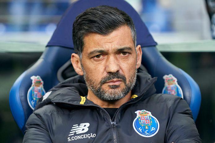 Sérgio Conceição, de coach van FC Porto.