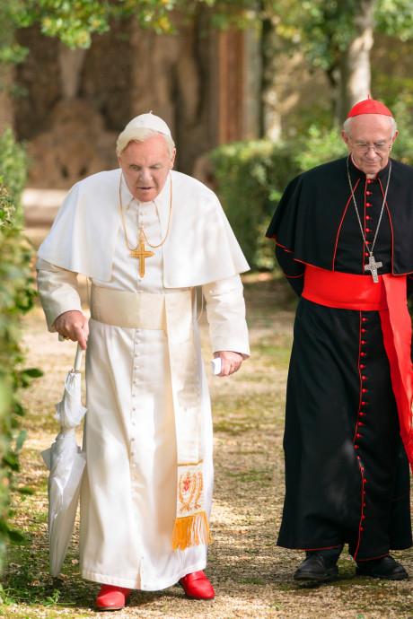 Ongelovige Jonathan Pryce: 'Met deze paus kan ik leven'