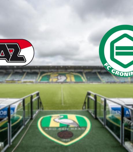 LIVE | AZ ontvangt FC Groningen in Den Haag