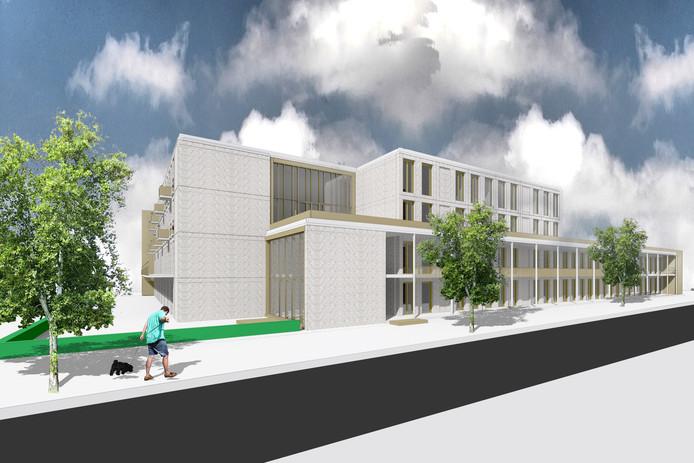 Een impressie van het nieuwe Labrehuis aan de Boutenslaan
