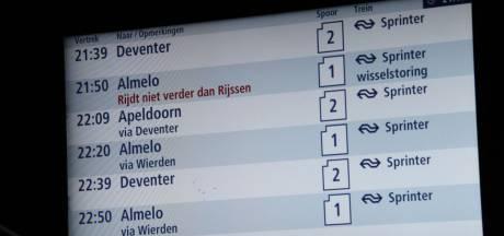 Problemen op het spoor in Twente