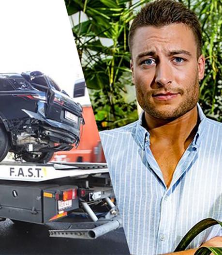 Viktor Verhulst na heftige crash: Een wonder dat ik ongedeerd ben