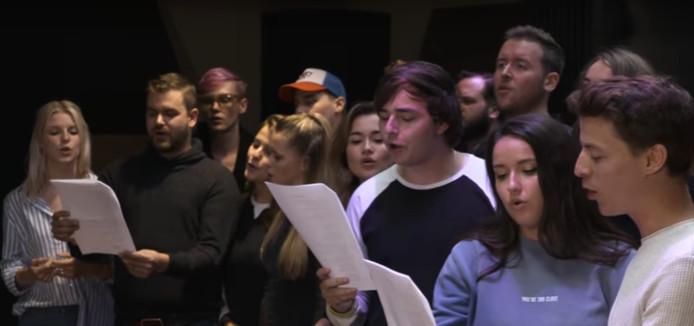 Het Sint Maarten-lied 'Ik geef om jou'