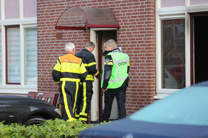 Brand woning Bergen op Zoom