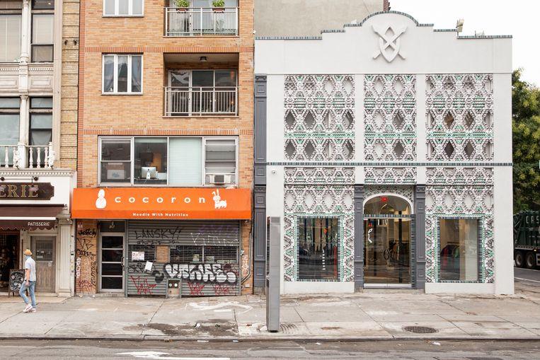 De vestiging van de winkel van Daily Paper op Delancey Street. Beeld Daily Paper