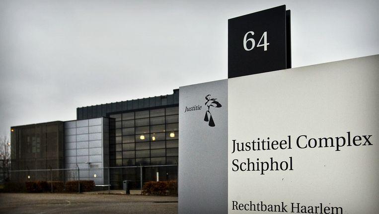 In het Justitieel Complex bij Schiphol waren ook enkele gedetineerden in hongerstaking. Beeld anp