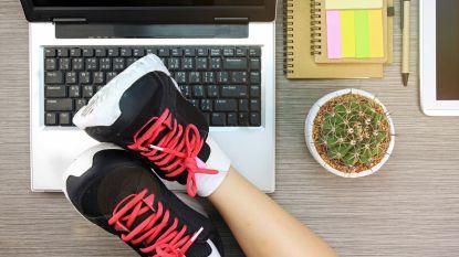 """Bewegen op het werk kan en hoeft niet lang te duren: """"Elke dag vijf minuten sporten achter je bureau"""""""