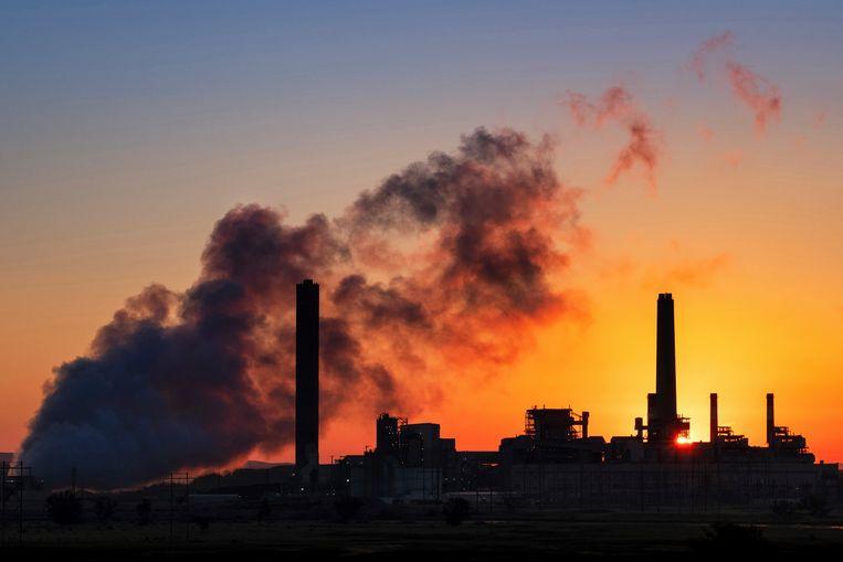 Een kolencentrale in de Verenigde Staten.  Beeld AP