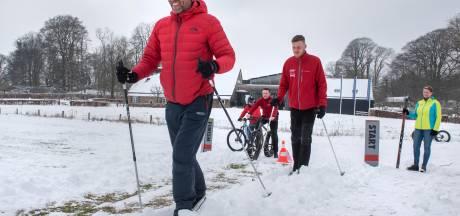 Sneeuw! Dat betekent langlaufen op de Posbank