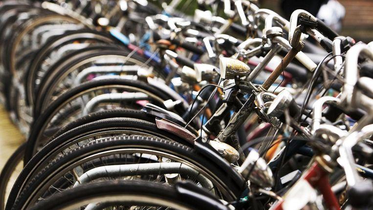In absolute aantallen gestolen tweewielers is Amsterdam koploper. Beeld anp