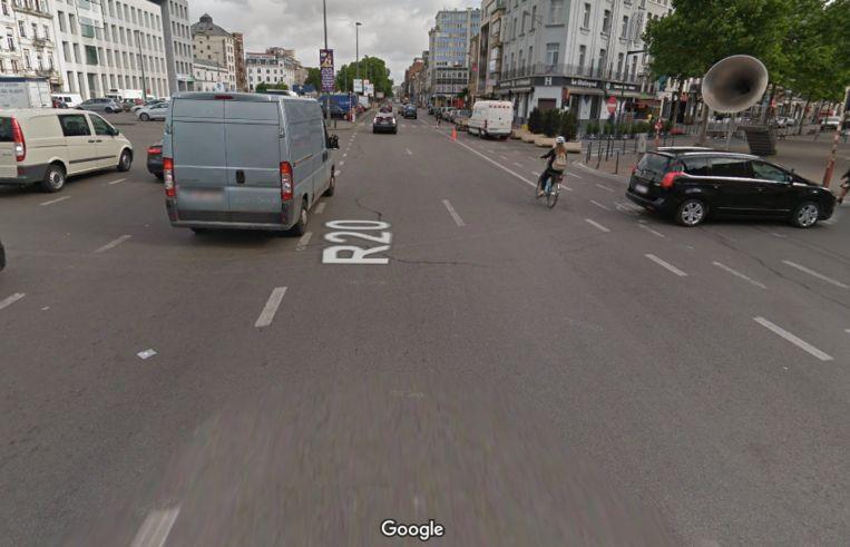 Zuidlaan in Brussel