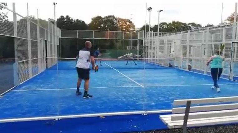 Kim Clijsters padel