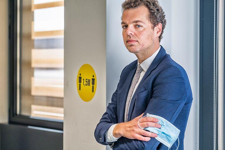 Pedro Facon: 'Het is niet mijn ambitie om woordvoerder van het crisisbeheer te zijn.' Beeld Tim Dirven