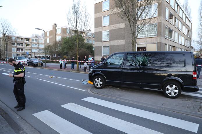 De voetgangster raakte gewond.