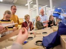 Kinderen uit groep 7 maken kennis met techniek in Rijssen