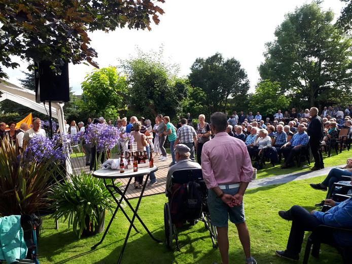 Het evenement Sixties in the Garden in Gilze  trekt jaarlijks enkele honderden toeschouwers.