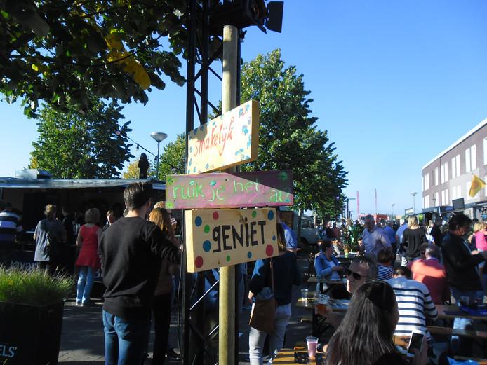 Het Hippe Happen Festival in Rosmalen.