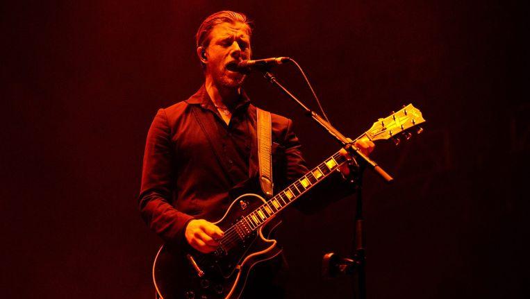 Interpol-zanger Paul Banks Beeld anp